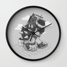 Original Bboy Wall Clock