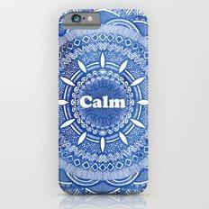 Calming Serenity Blue Mandala Slim Case iPhone 6s