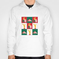 mexico Hoodies featuring Mexico City by Arts and Herbs