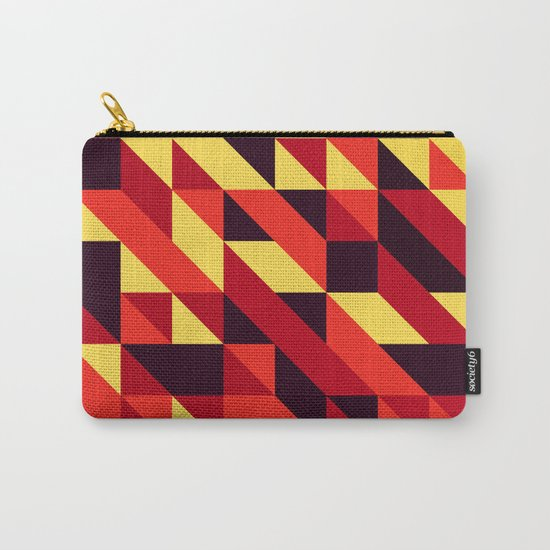 triangle lines Carry-All Pouch