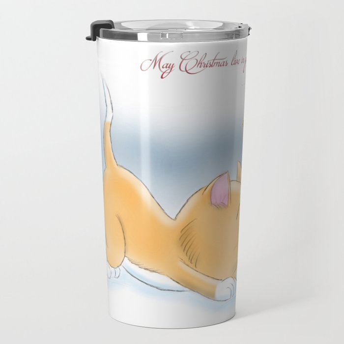 May Christmas live in your heart all year long Travel Mug