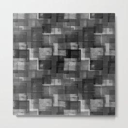 Squares Interrupted Metal Print