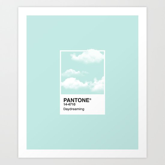 Pantone Series – Daydreaming by maines