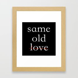 Same 1 Framed Art Print