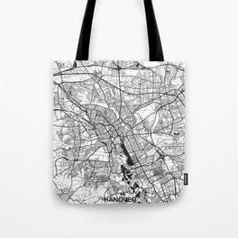 Hanover Map Gray Tote Bag