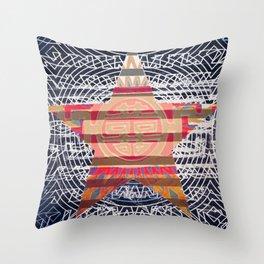 China Star Throw Pillow