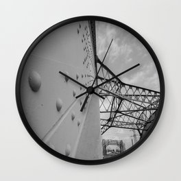 The Arches - Sixth Street Viaduct Bridge - LA 01/30/2016 Wall Clock