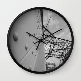 The Arches - Sixth Street Viaduct Bridge - LA 01/30/2016 Wall Clock