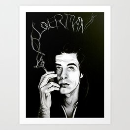 "Nick Cave ""Loverman"" Art Print"