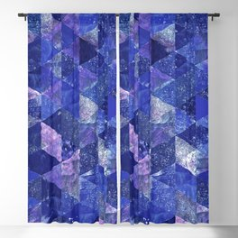 Abstract Geometric Background #19 Blackout Curtain