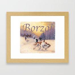 The Borzoi Framed Art Print