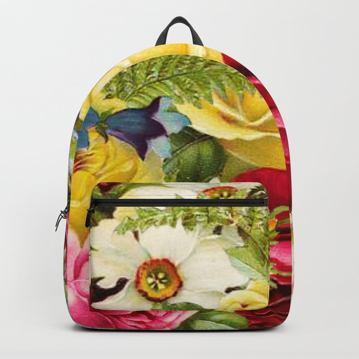 flowers profusion Backpack