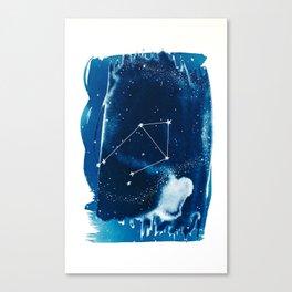 Libra Zodiac Print Canvas Print