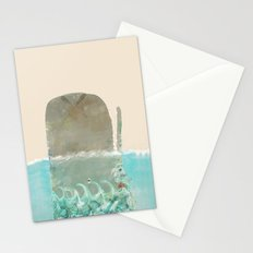 into the wild the whale Stationery Cards