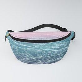 Pink Blue Ocean Dream #1 #water #decor #art #society6 Fanny Pack