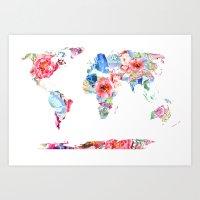 Optimistic World Art Print