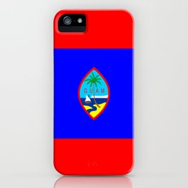 Guam country flag iPhone Case