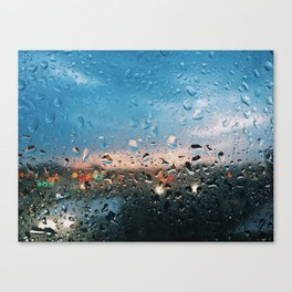Evening Rainfall Canvas Print