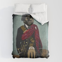 Boris the Bruce, Mouser-in-Chief Comforters