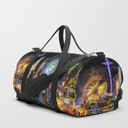 Fairground Attraction panorama Duffle Bag