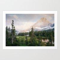 Hidden Lake Trail Art Print