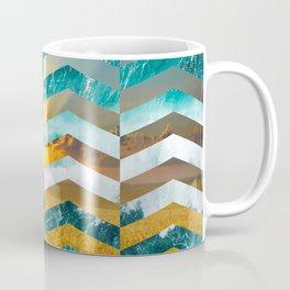 Golden Lapas -Wide Chevrons Coffee Mug