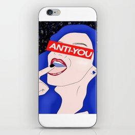 Anti-You iPhone Skin