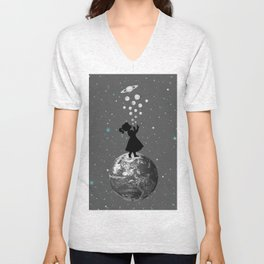 Blow Yourself  A Universe Unisex V-Neck