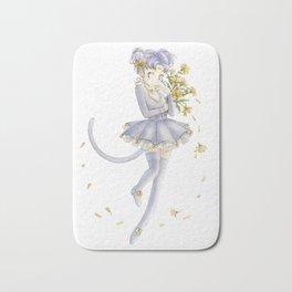 Diana´s human form Sailormoon fanart Bath Mat
