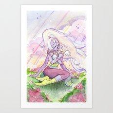 The Greatest Love - Steven Universe Opal Art Print