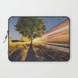 Railroad of the Elm Laptop Sleeve