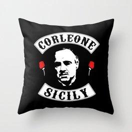 Vito Corleone - The Godfather Throw Pillow