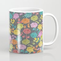 roses Mugs featuring ROSES by Bianca Green