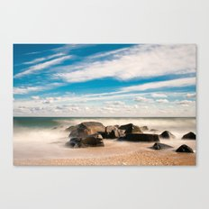 Sea Girt Beach Canvas Print
