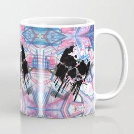 Dripping Kaleido-Skull Coffee Mug