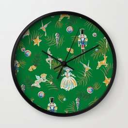 Nutcracker Wall Clock