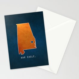 War Eagle Stationery Cards