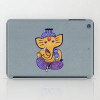 ganesha iPad Cases featuring Ganesha by Vanya