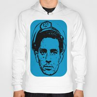 literature Hoodies featuring Outlaws of Literature (Jack Kerouac) by Silvio Ledbetter