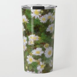 Daisies In Spring Travel Mug