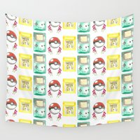 nintendo Wall Tapestries featuring Nintendo Love by Laura Pulido