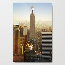New York City Sunshine Cutting Board
