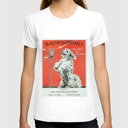 Be Kind To Animals 6 T-shirt