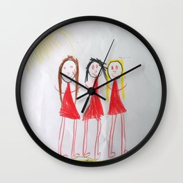 Me and my friends Wall Clock
