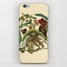 Botanical English Bulldog iPhone & iPod Skin