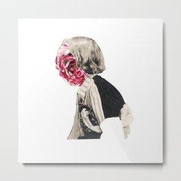 001 pink Metal Print