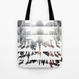 Because truths are told, and flee reactions ensue. [A] Tote Bag