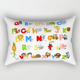 ABC (english) Rectangular Pillow