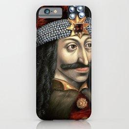 Count Dracula portrait iPhone Case