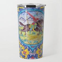 Iranian tiles Travel Mug